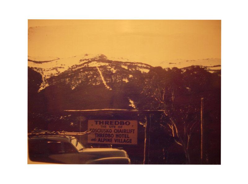1960s photo of Thredbo ski slopes